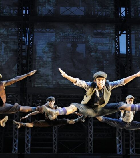 Stamina and Stardom: Newsies Dancers Work as One to Seize the Day