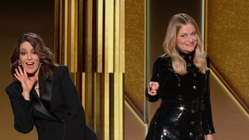 Tine Fey and Amy Poehler at 78th Golden Globes